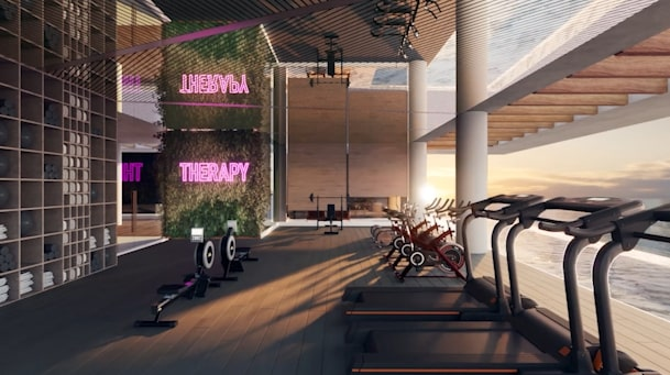 Moderno e contemporâneo marcam áreas comuns da Casas Conceito Virtual Experience
