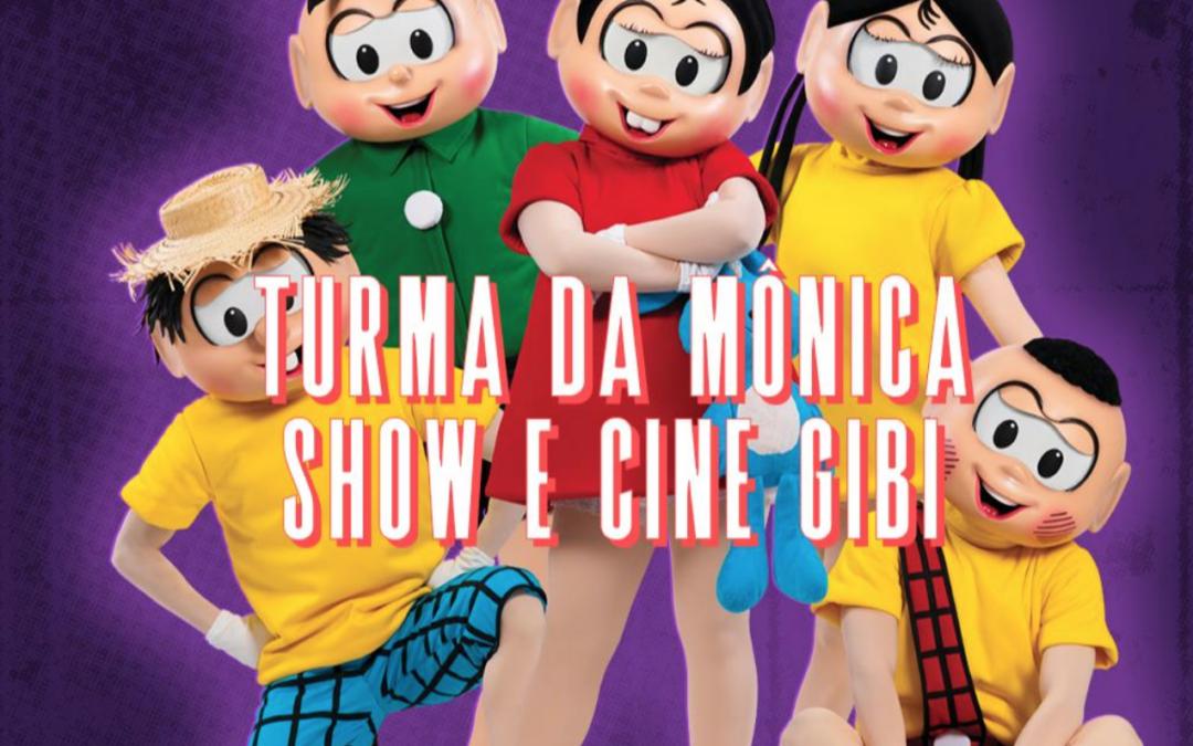 Diversão para as crianças no final de semana, Turma da Mônica se apresenta em Salvador