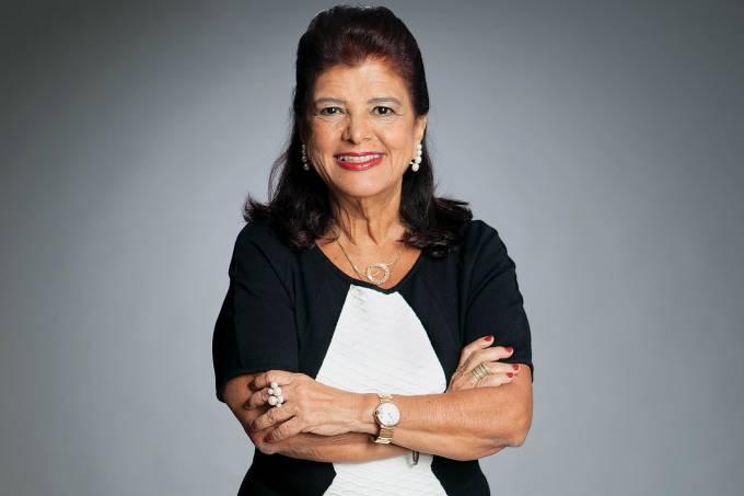 """Luiza Helena Trajano, empresária e presidente do Grupo Mulheres do Brasil, participa do programa """"Impulsionaê, carreiras"""""""