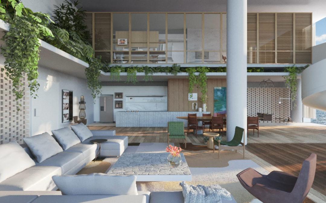 Funcionalidade e estética marcam espaço de Gabriel Magalhães na Casas Conceito Virtual Experience